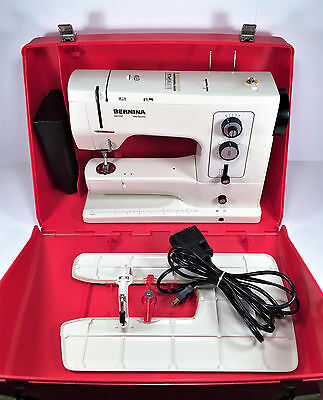 BERNINA 830 Record Sewing Machine w Case~Free Arm~Clean & Tested