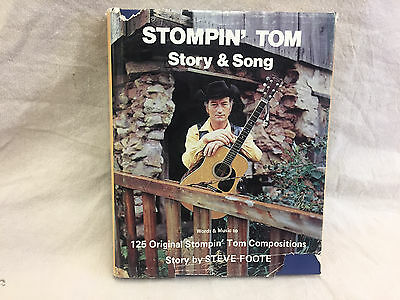 Stompin' Tom Story & Song Book  autograph Inscribed by Tom Connors Folk Music