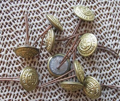 Canadian Pacific Railway Brass Buttons