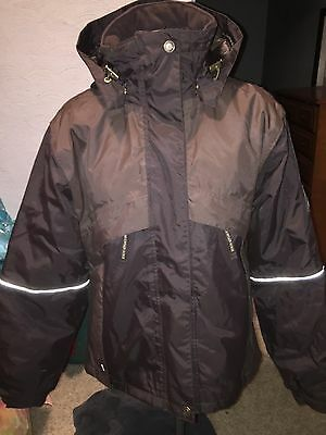 MOUNTAIN HORSE GRACE Weather Protective Womens Riding Equestrian Jacket Large