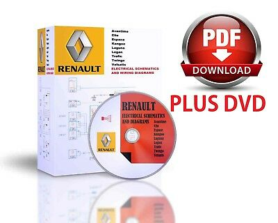 Renault Electronic Wiring Diagrams DVD