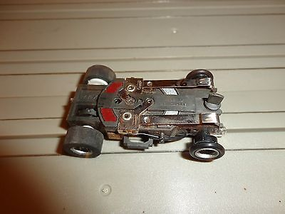 Ho Slot Aurora AFX Magna-Traction Flamethrower Lighted Chassis Clean Mint #26