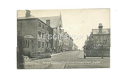 Sussex : Bognor : Roman Catholic Church And Clarence Road - Old Postcard