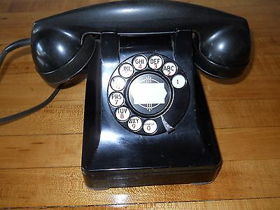 Western Electric Vintage dial telephone WORKING!