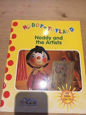 Noddy Book Brand New - Noddy And The Artists