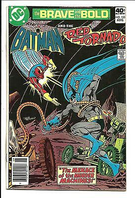 BRAVE AND THE BOLD # 153 (DC Comics, BATMAN and RED TORNADO), VF+