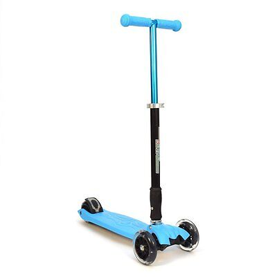 3Style Scooters® RGS-2 Tilt Mini 4 Wheel Kick Scooter Board With LED Wheels