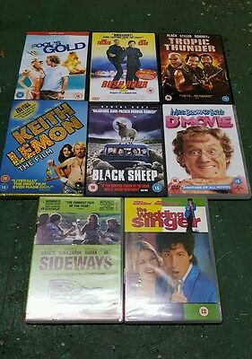 Comedy DVD bundle, Rush Hour 2, Fools Gold, Black Sheep and more.