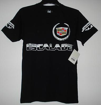 Size M  Authentic Cadillac Escalade Screen Printed T- Shirt   Black JH Design M