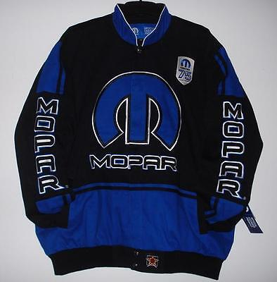 SIZE MD  JH DESIGN MOPAR Racing EMBROIDERED Cotton Jacket NEW M