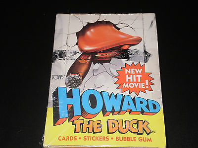 Howard The Duck Wax Box Topps 1983 36 Count