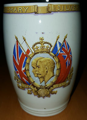 George V Silver Jubilee Beaker 1935  Collectable