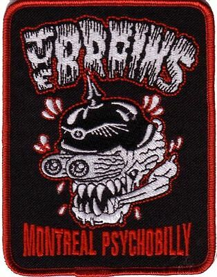 The Brains-Montreal Psychobilly Patch