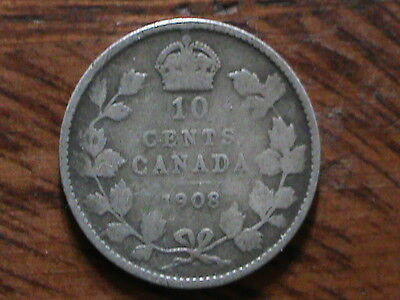 Canada 10 cents   1908