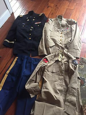 Chief Warrant Officer's Grouping, named , WWII to 1980's , Medals, Uniforms, +