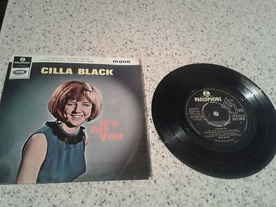 "CILLA BLACK ""IT'S FOR YOU""  PARLOPHONE 7"" Extended play GEP 8916"