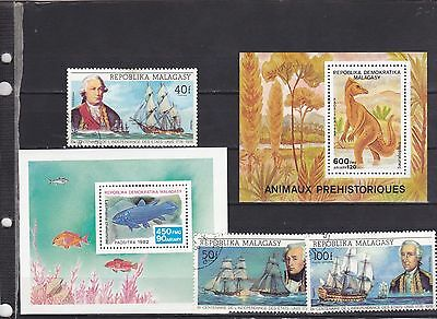 Stamps of Madagascar