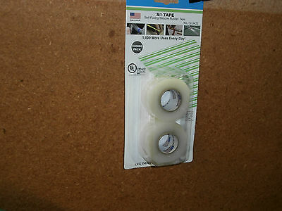 Philmore 12-3422 Pkg/2 Self Fusing Clear Silicone Rubber Waterproof Tape, NEW