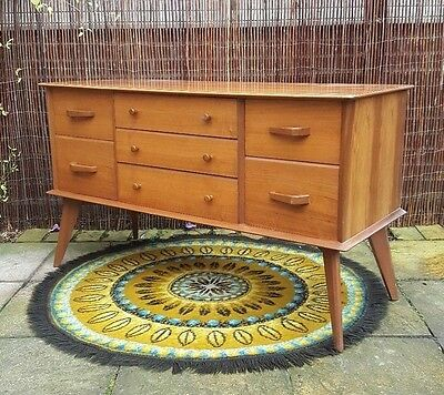 Stunning 1950s Alfred Cox Heals Mid Century Sideboard/Dressing Table Vintage