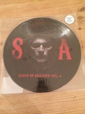 Sons of Anarchy - Songs of Anarchy Vol 4 - Double Picture Disc - Very Limited Ed