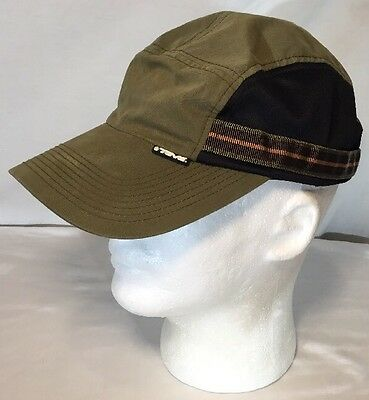 Teva Breathable Hiking Outdoor Hat Cap Olive Drab Q3 Tech Adjustable Strap