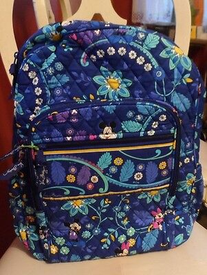 Vera Bradley Disney Campus Backpack in Mickey and Minnie Dreaming