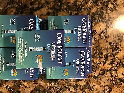 One Touch Ultra Test Strips NIB 9 Boxes (900)
