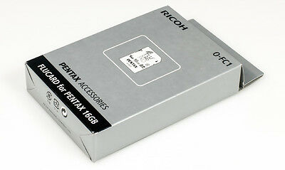 Pentax Ricoh Flucard for Pentax 16GB O-FC1 (Flu card)