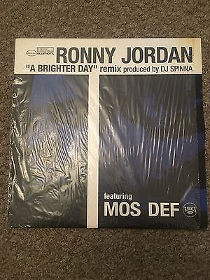 "Ronny Jordan ""A BRIGHTER DAY"" Remix Produced By DJ SPINNA"
