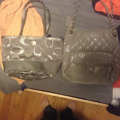 Lot Of 2 Coach Bags