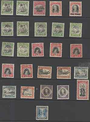 Stamps Niue 26Pc Lot