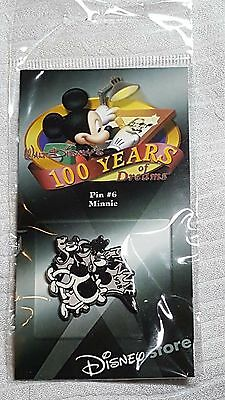 disney pin 100 years of dreams # 6 minnie mouse 1928 New