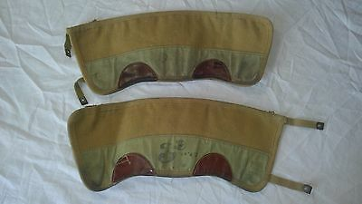 WWII WW2 Canadian Anklettes Gaitors