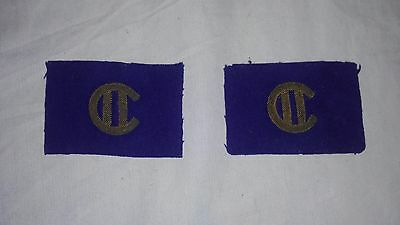 WW2 WWII Canadian Second Infantry Division Officer's Patch Flash