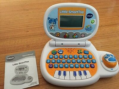 Child Toddler Vtech Little SmartTop Computer Laptop Toy
