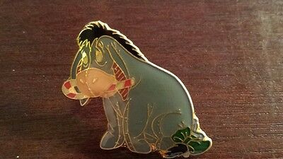 Eeyore Disney Pin Winnie the Pooh Holiday Christmas Candy Cane