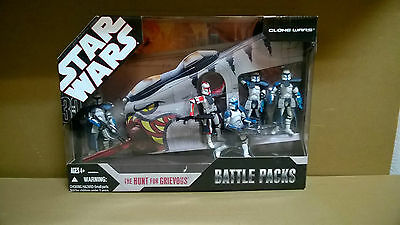 STAR WARS 30th anniversary  Battle Packs THE HUNT FOR GREVIOUS