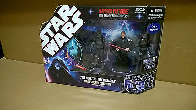 Star Wars  The Force Unleashed Emperor Palpatine with shadow troopers
