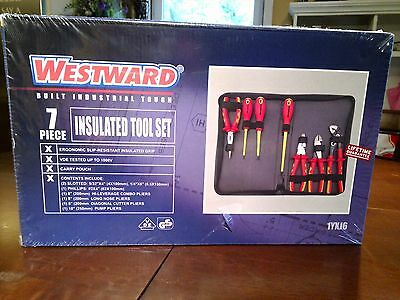 Westward 7pc Insulated Tool Set New with Carry Pouch 1000v