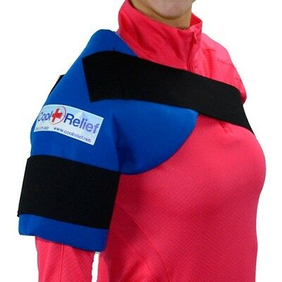 Soft Gel Shoulder Ice Wrap by Cool Relief