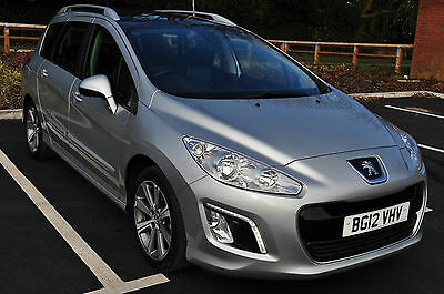 2012 Peugeot 308 SW  - 1.6 e-HDi 112 Active 5dr Start/ Stop Panoramic Roof
