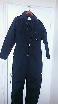 Carhartt Duck Coveralls /quilt lined overalls size 38 regular