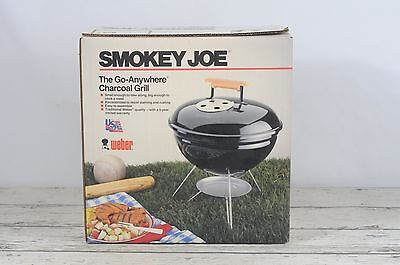 Vintage 1988 Smokey Joe Go-Anywhere Charcoal Grill New In Box