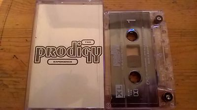 The Prodigy Experience. Rave Music Cassette Tape From Year 1992.