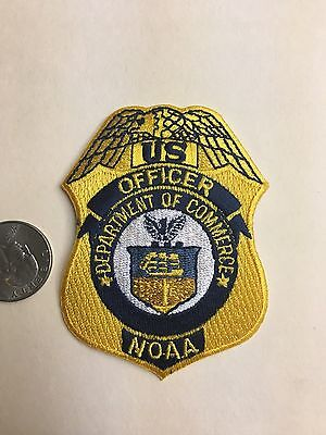 Federal NOAA Commerce Police Officer gold rare HTF