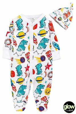 Next boys sleepsuit with hat 6-9 months new