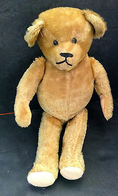 """Antique Humpback Teddy Bear 18""""  Estate Collection Lot 6"""