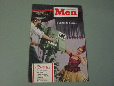 1940's Goodyear Tire Magazine for Men TV Comes To Canada
