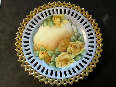 antique plate made in germany dated 1912