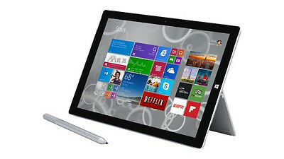 Microsoft Surface Pro 4 128GB, Wi-Fi, 12.3in - Silver Tablet (Intel Core i5 -...